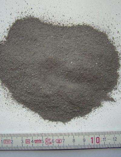 Jemná frakce Mg strusky